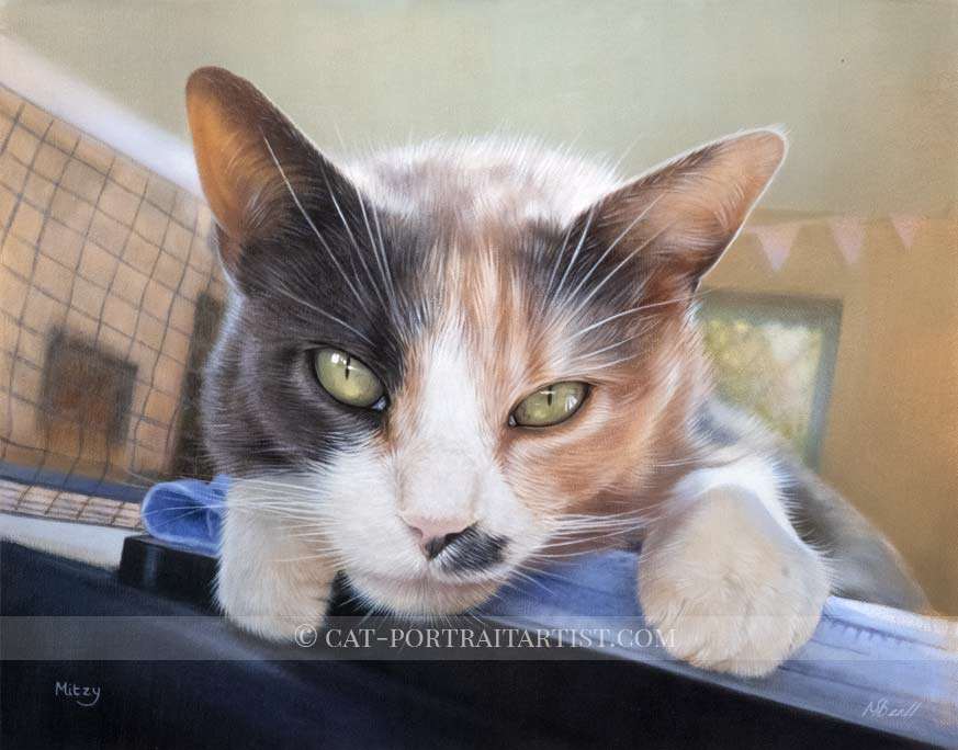 Cat Paintings by Nicholas Beall