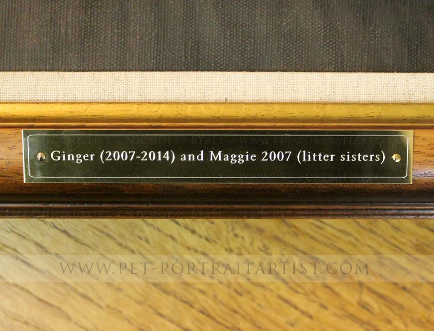 Engraved Plaque in Gold